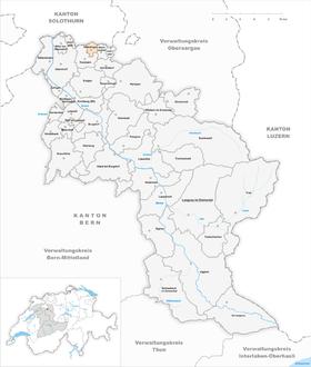 Map of Willadingen