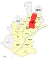 Karte Schweinfurt, Stadtteil 41 Hochfeld - Steinberg.png