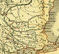 Karte aus dem Buch Römische Provinzen von Theodor Mommsen 1921 16f.jpg