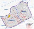 Karte von Reinprechtsdorf, ehem. Vorstadt von Wien und dessen Lage in den heutigen Bezirken.png