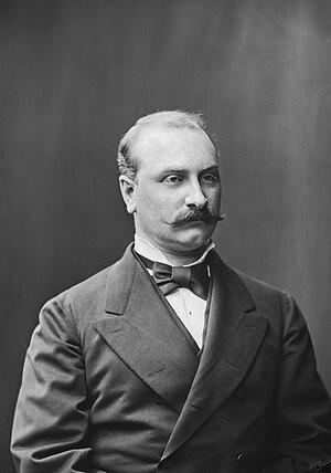 Kasten Antell - Kasten Antell in 1878.