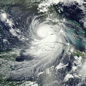 NASA World Wind - Rapid Fire MODIS - Hurricane Katrina