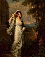 Portret Heleny ze Stadnickich Męcińskiej jako Westalki