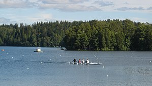 1995 World Rowing Championships - Sculling on Lake Kaukajärvi