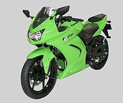 Kawasaki Ninja Ex 250r Wikipédia A Enciclopédia Livre