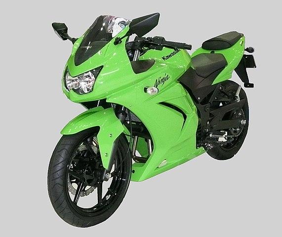 Small Kawasaki Ninja
