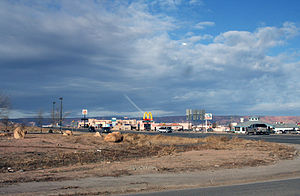 Kayenta, Arizona - Image: Kayentatown 2