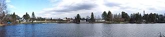 Kearney, Ontario - Image: Kearney Panorama April 2006