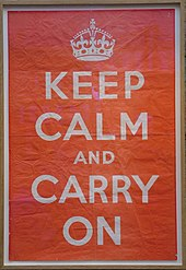 The Poster Discovered At Barter Books 2013 Shop Display Of Keep Calm