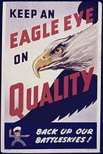 Keep an eagle eye on quality. Back up our battleskies^ - NARA - 535058.jpg