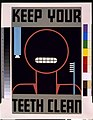 Keep your teeth clean LCCN92517367.jpg