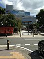 Kego Shrine and Fukuoka Mitsukoshi Building.jpg