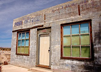 Kelso, California - Kelso post office is closed for business