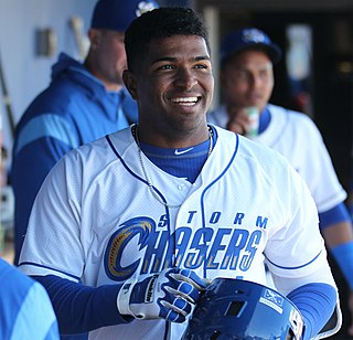 Kelvin Gutiérrez Dominican Republic baseball player
