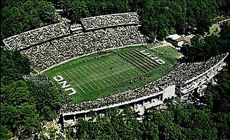 Kenan Memorial Stadium - The stadium in 1971