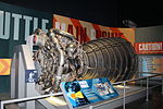 Kennedy Space Center, Shuttle Main Engine.JPG