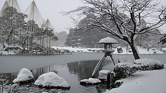 Ishikawa Prefecture - Winter in Kenrokuen