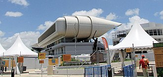 Kensington Oval - Image: Kensington Oval media centre