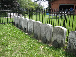 Kellogg's Grove - The cemetery includes the graves of victims of the St. Vrain massacre.