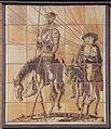 """Keramisches Relief """"Don Quixote und Sancho Pansa"""" Kurt Derckum 1957.jpg"""