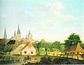 Kersting - Ansicht Rostocks vom Gertrudenplatz aus 1809.jpg