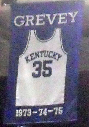 Kevin Grevey - Image: Kevin Grevey jersey