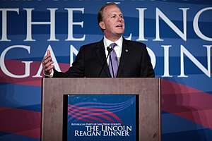 Kevin Faulconer - Faulconer speaking at the 2015 Lincoln-Reagan Dinner in San Diego, California.