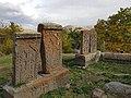 Khachkars near Makravank Monastery (9).jpg