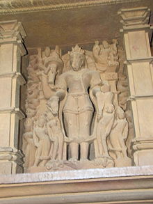 Khajuraho India, Lakshman Temple, Sculpture 12.JPG