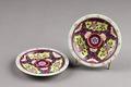 Kinesiska tefat gjorda i porslin under Qianlong (1735-1795) - Hallwylska museet - 95736.tif