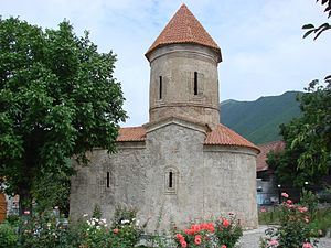 Church of Caucasian Albania - Side view of the Church of Kish