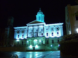 Armstrong County, Pennsylvania - Image: Kittanning Courthouse