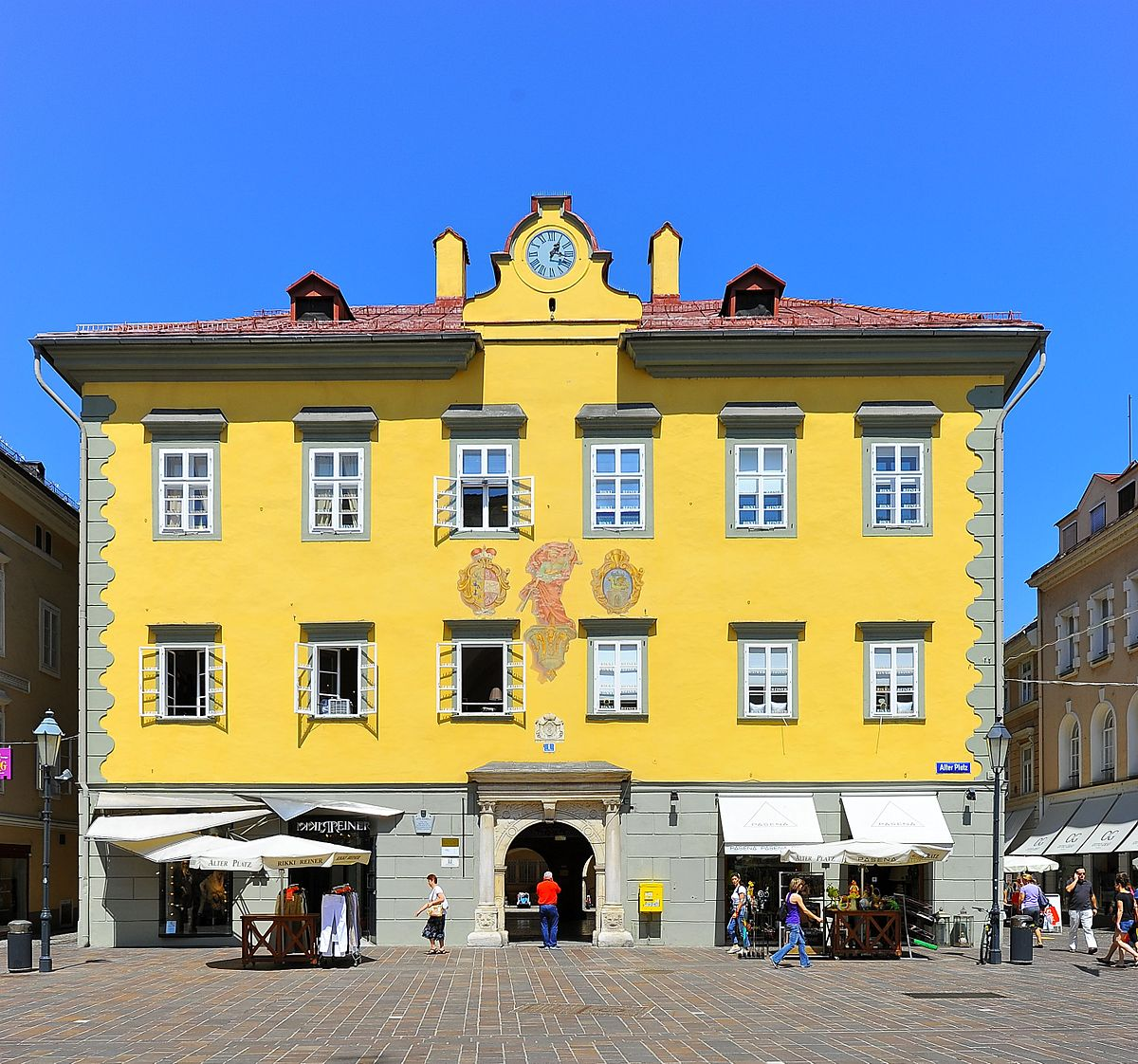 altes rathaus klagenfurt am w rthersee wikipedia. Black Bedroom Furniture Sets. Home Design Ideas