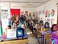 Klassenzimmer in einer durch Child Care Afrika errichtete Vorschule in Marokko nähe Agadir.jpg