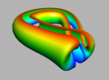 Klein Bottle Parametrized Split Lengthwise.png