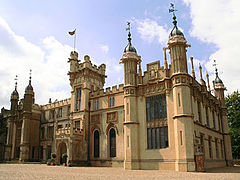 Knebworth House, in the grounds of Knebworth Park.jpg