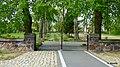 Kościół p.w. Świętego Kazimierza. Widok z terenu kościoła . Brama główna. - panoramio.jpg