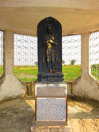 Koṇāgamana Buddha - Image: Koṇāgamana Buddha Ashoka (3)