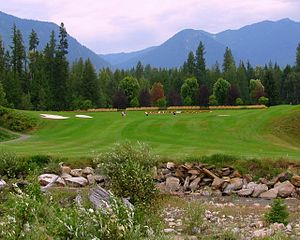 Crawford Bay, British Columbia - Kokanee Springs Golf Course, Crawford Bay, British Columbia, Canada, 2013.