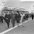 Koninklijk paar en Prinses Beatrix naar Mexico vertrokken vanaf Schiphol, Vlnr. , Bestanddeelnr 916-2768.jpg