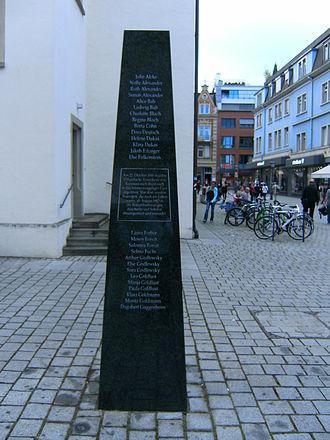 Konstanz - Memorial to the murdered Jews of Konstanz