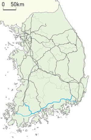 Gyeongjeon Line - Image: Korail Gyeongjeon Line