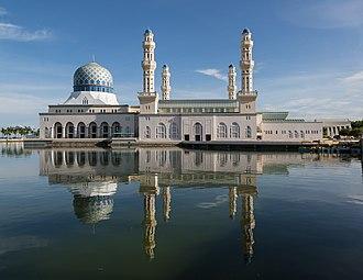 Kota Kinabalu City Mosque - Image: Kota Kinabalu Sabah City Mosque 08
