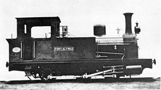 Kowie Railway 0-6-0T class of 2 South African 0-6-0T (later 4-4-0T) locomotives