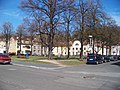 Kralupy nad Vltavou, Dvořákovo náměstí, od Jana Palacha.jpg