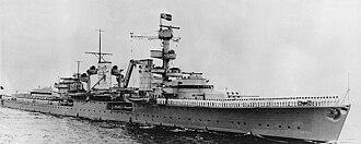 German cruiser Köln - Köln circa 1936