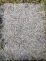 Kriegerdenkmal Alter Friedhof Mölln Volkssturmm. Heinz Hübler 28.7.1929 - 30.4.1945.jpg