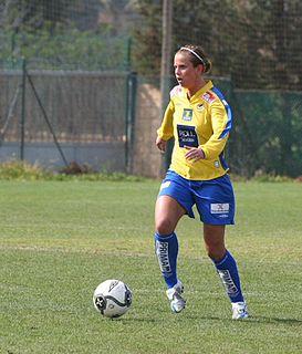 Kristin Lie Norwegian womens footballer