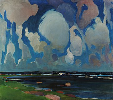 Clouds in Finland