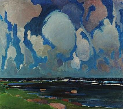 Krzyżanowski, Konrad (1872-1922) - Clouds in Finland - National Museum Kraków.jpg